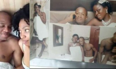 Biafra: IPOB Member Shows Support For Nnamdi Kanu, Releases Bedroom Photos With Wife