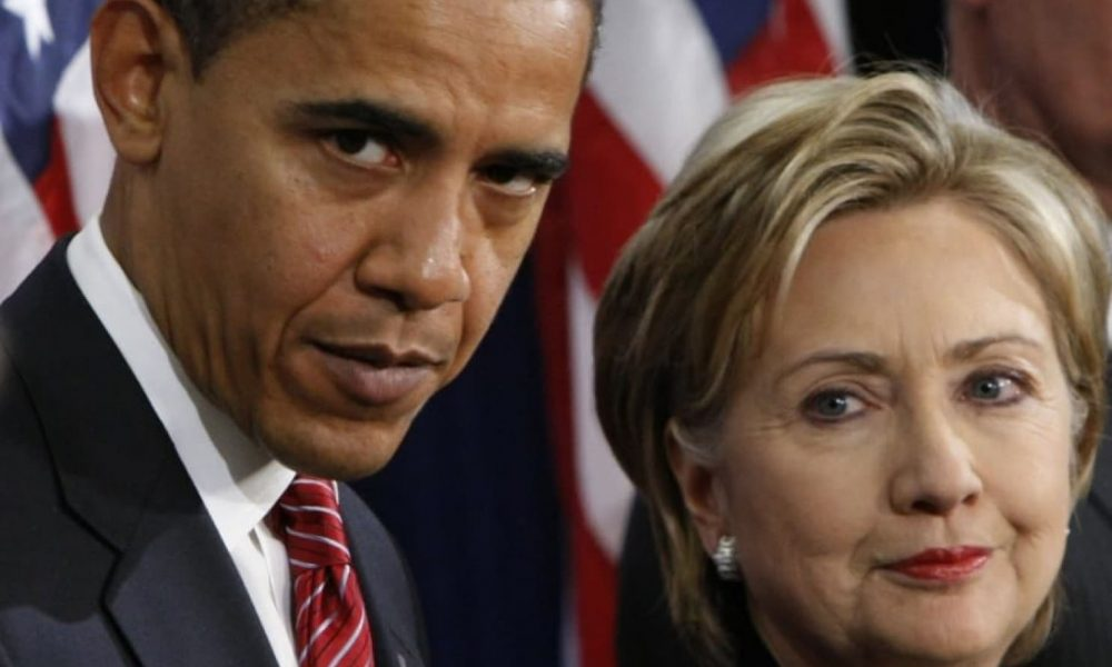 Obama and Hillary Clinton 1000x600 - Twitter Users Roast Obama, Hillary Clinton For Replacing Christians With 'Easter Worshippers'