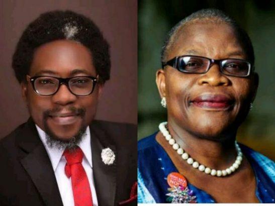 Obi Ezekwesili and Segalink - Omotola: Oby Ezekwesili Attacks #EndSARS Activist Segalink