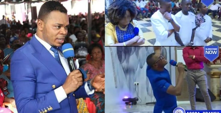 Obinim - Ghanaian Bishop Flogs Members Over Pre-Marital Sex (Video)