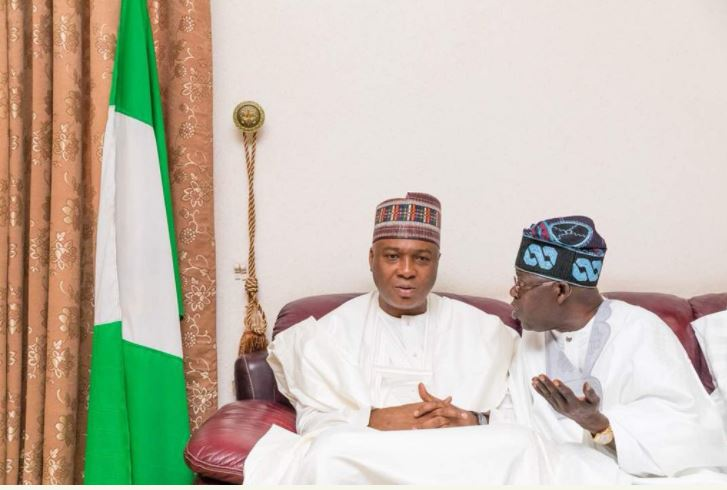 Saraki and Tinubu - Saraki Tells Tinubu What To Do To Lawmakers