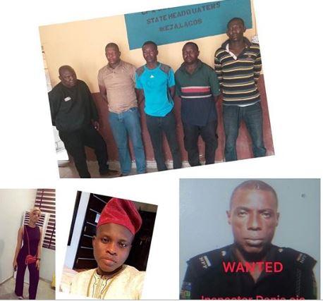 Sarz killig - #SARS Killing: Police Parade 5 Officers