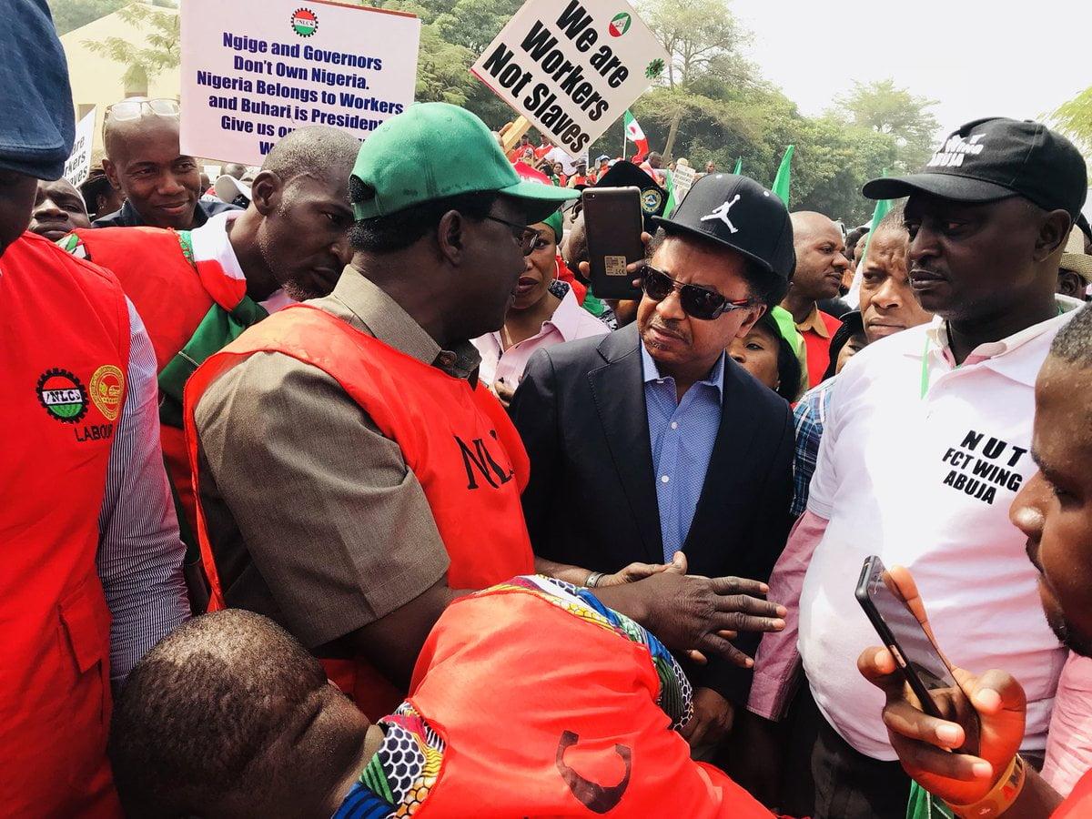 Shehu Sani Reacts As Buhari Signs New Minimum Wage Bill Into Law