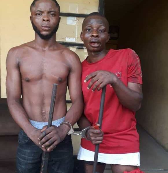 Suspects 581x600 - Police Unveils Abductors Of Lagos Fire Service Boss, 6 others
