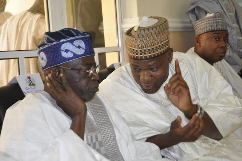 Tinubu and Dogara - Budget Padding: Dogara Attacks 'Ignorant' Tinubu