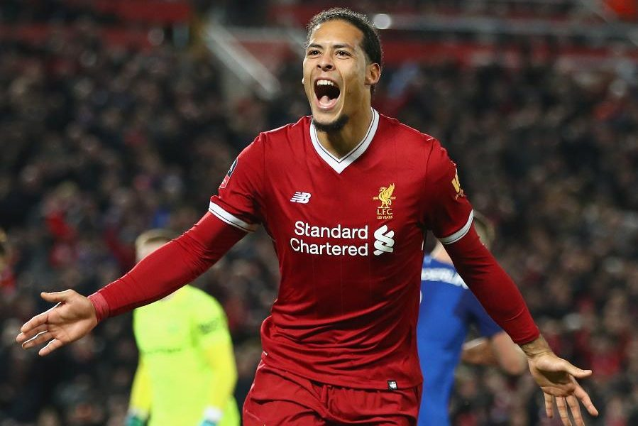 Virgil van Dijk 899x600 - Liverpool's Virgil Van Dijk Wins PFA Players' Player Of The Year