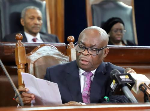 Walter Onnoghen - Onnoghen: IPOB Attacks NJC, Says Council Scared Of Buhari