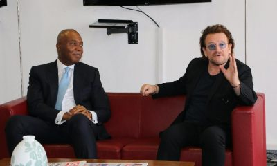 Saraki meets Bono