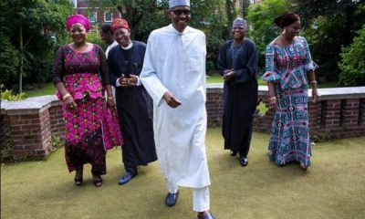 buhari and his media aides