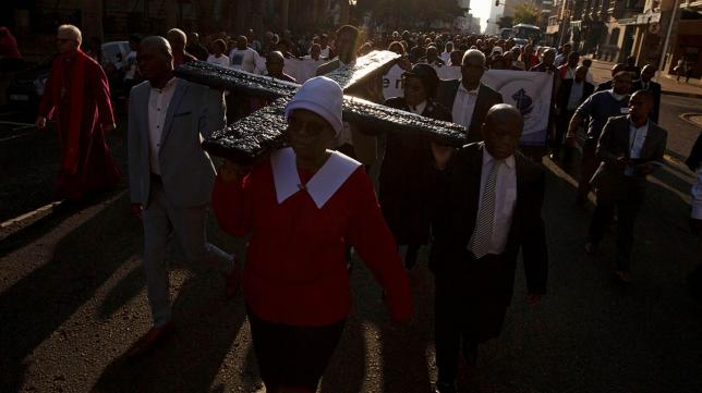 church web - 13 Killed, 16 Injured As Church Collapses During Mass In Durban