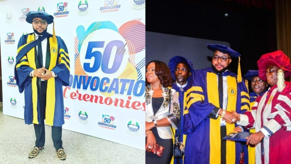 e money bags honorary Ph.D - UNILAG Denies Conferring E-Money With Doctorate Degree