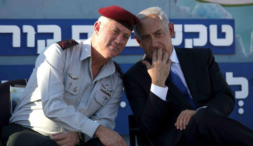 gantz and bib 1000x576 - Israel Election: Benjamin Netanyahu, Gantz Tied