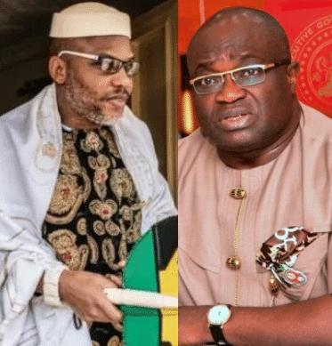 Biafra: Nnamdi Kanu Breaks Silence On Ikpeazu's Victory