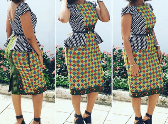 latest ankara styles - Check Out These 2019 Latest Ankara Styles For Ladies