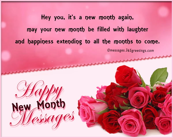 new month messages - 100 Happy New Month Messages, Wishes, Prayers For May