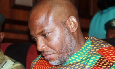 Biafra: Nnamdi Kanu Honours 'Biafrans Killed' During Operation Python Dance II