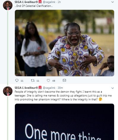 sega 4 - #EndSARS Convener, Segalink Responds To Ezekwesili's 'Attacks'