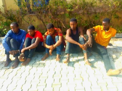 shehu usman and gang - Police Arrest Most Wanted Criminal Terrorizing Kogi, Edo, Ondo Highways (Photos)