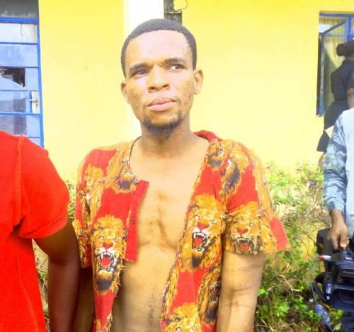 shehu usman arrested by police - Police Arrest Most Wanted Criminal Terrorizing Kogi, Edo, Ondo Highways (Photos)