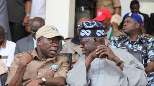 tinubu oshiomhole - Ministerial Appointments: Buhari Shuts Out Oshiomhole/Tinubu