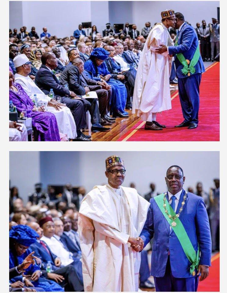 unnamed 3 - Buhari Meet Obasanjo In Senegal (Photos)