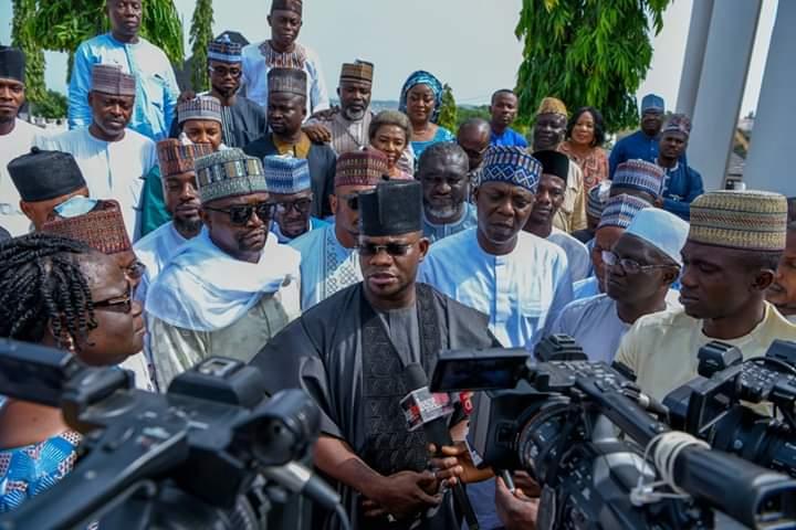 yahaya bello - Kogi Election: Yahaya Bello Declares Second Term Ambition