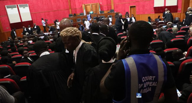 5 14 - Just In: Security Operatives Barricade Abuja Appeal Court Premises (Photos)