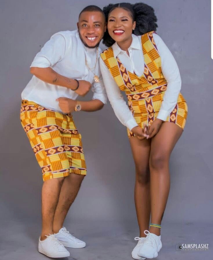 50580537 294305074613490 5551079087860088832 n - Trendy Ankara Latest Designs And Styles For Couples