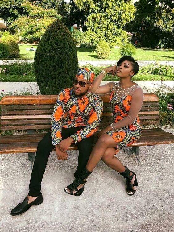 59640226 809820059389318 8147669916766437376 n - Trendy Ankara Latest Designs And Styles For Couples