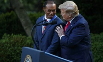 Donald Trump, Presidential Medal Of Freedom To Tiger Woods