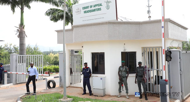 6 13 - Just In: Security Operatives Barricade Abuja Appeal Court Premises (Photos)