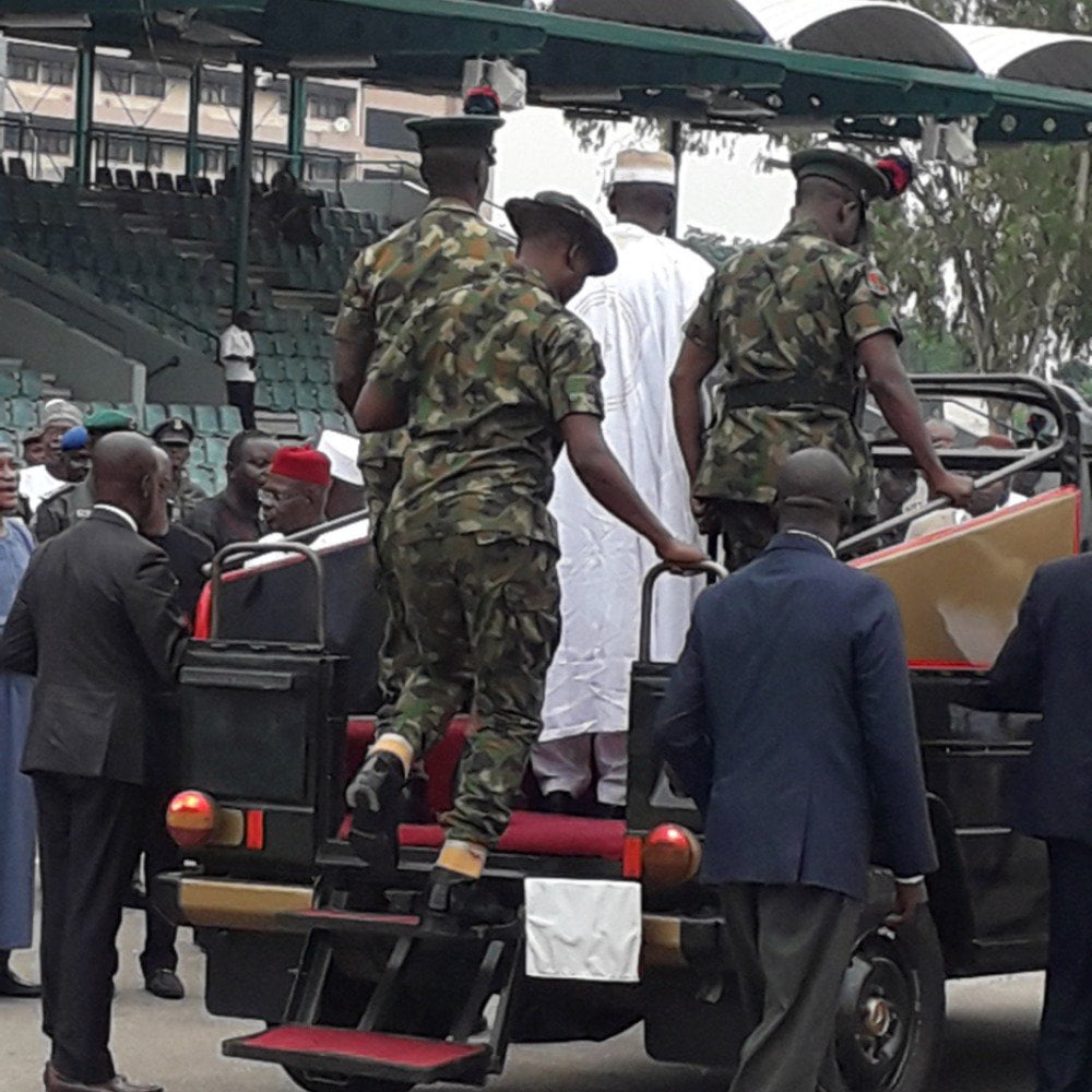 75TXQNxW - Photos: Military Show Nigerians What To Expect On Democracy Day