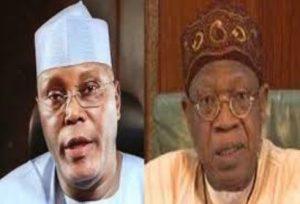 Atiku Vs Buhari: Ex-VP's Aide Roasts APC's Lai Mohammed