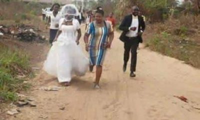 Fie Photo of a Nigerian Bride