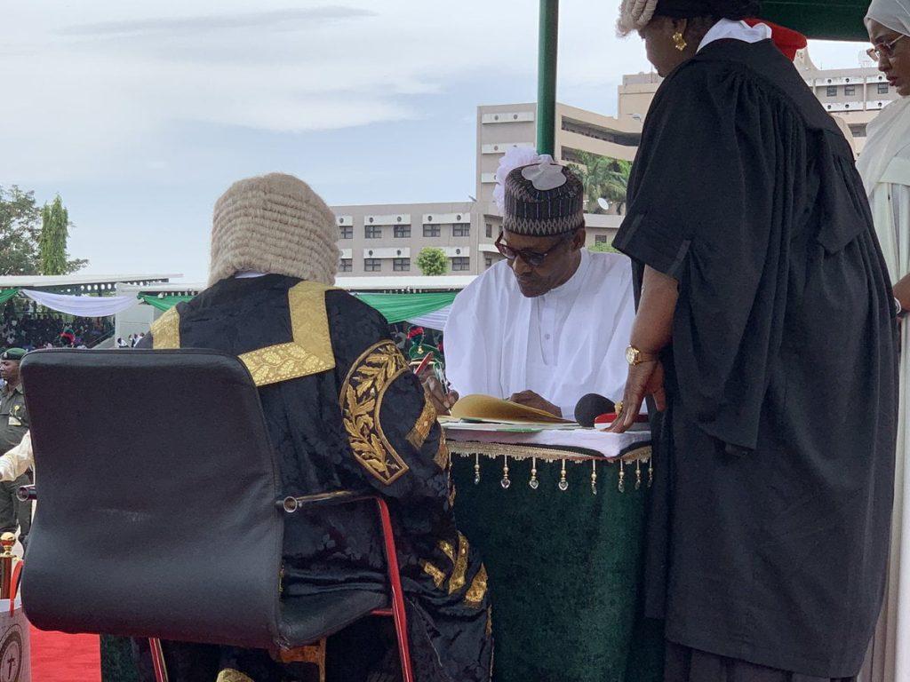 Buhari 1 1 1024x768 - Videos/Photos Of 2019 Presidential Inauguration