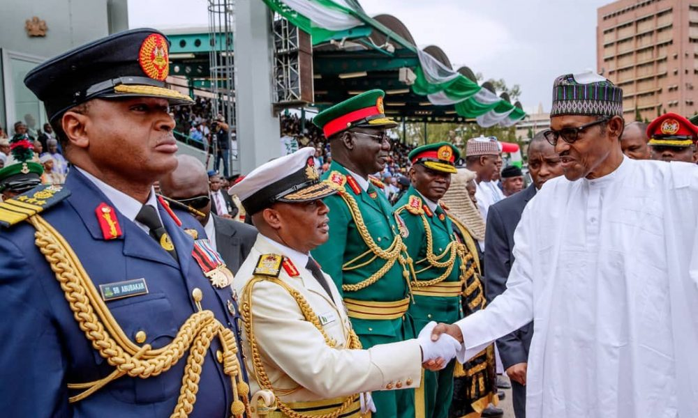 Real Reason Buhari Appointed Ex-Service Chiefs As Ambassadors Revealed