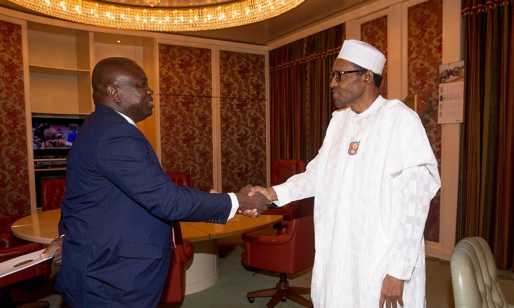 "Buhari and Ambode 1000x600 - ""I Am Wiser Now"", Ambode Claims As He Visits President Buhari"
