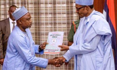 Buhari and CCB