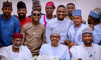 Buhari Sends 'Strong Warning' To Nigerian Celebrities