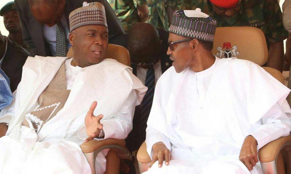 Buhari and Saraki 1000x600 - EFCC: Saraki Set To Meet President Buhari