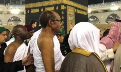 Nigerians React As Buhari Shows Running Skill In Mecca