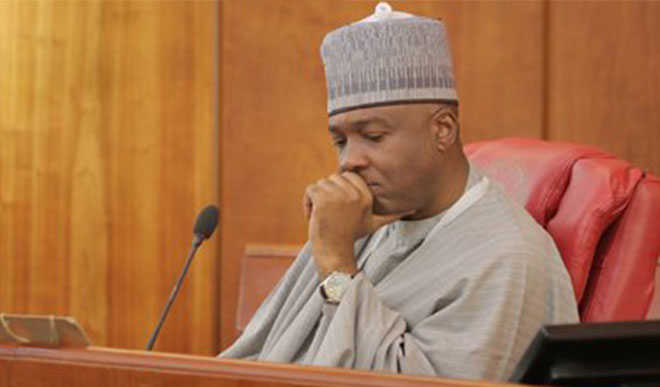 Saraki Reacts To Killing Of Young Nigerians By SARS, Tells FG What To Do