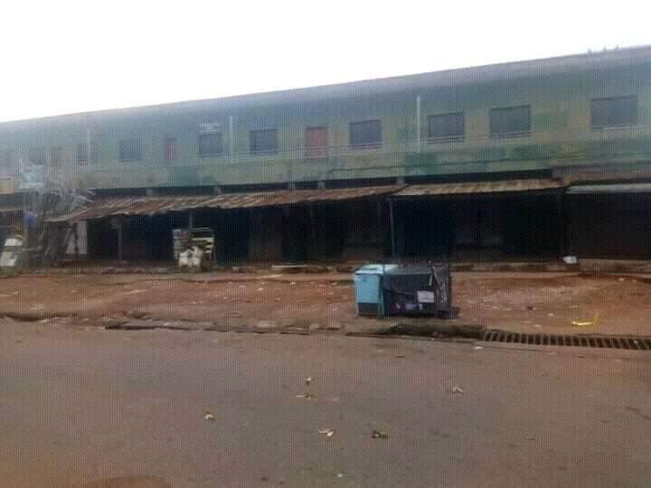 CLOSED SHOPS - Biafra: See What Onitsha, Other Cities Look Like As IPOB Observes Sit-At-Home (Photos)