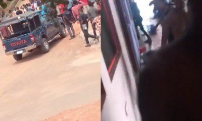 Nigerians React As Police, Students Clash At Caleb University
