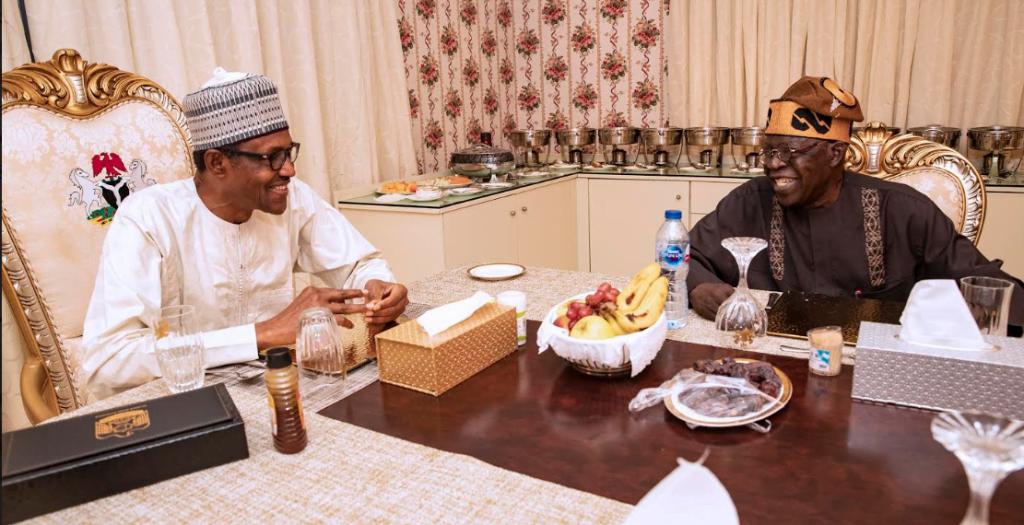 Capture 14 1111x570 1024x525 - Ramadan: Buhari Meets Tinubu, Breaks Fast (Photos)