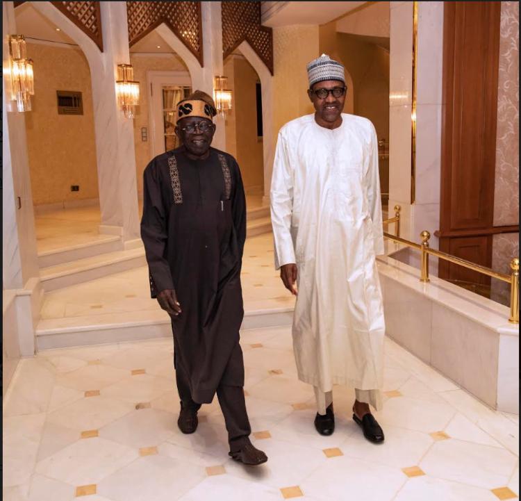 Capture2 750x721 1 - Ramadan: Buhari Meets Tinubu, Breaks Fast (Photos)