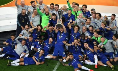 Chelsea Maul Arsenal 4-1 To Lift Europa League