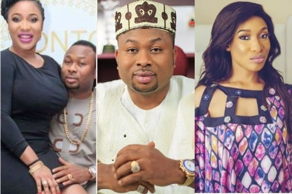 Churchill and Tonto Dikeh  - Churchill Replies Nollywood's Tonto Dikeh, Speaks On Their S*x Life