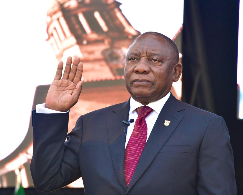 D7aa9euXsAEFNYO 1 - Photos From Cyril Ramaphosa's Presidential Inauguration As Fifth President Of South Africa