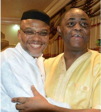 FFK and Kanu - Biafra: Former Minister Sends Fresh Message To IPOB's Nnamdi Kanu